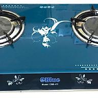 Bếp Gas Đôi Mặt Kính eBlue (Sen Hồng Ngoại)- EBB411 - Hàng chính hãng thumbnail