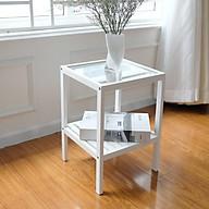 Kệ Gương Đa Năng Glass Shelf Nội Thất Kiểu Hàn BEYOURs - Trắng thumbnail