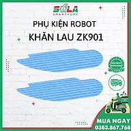 Khăn lau cho Robot hút bụi lau nhà nhập khẩu dành cho Liectroux Zk901 thumbnail