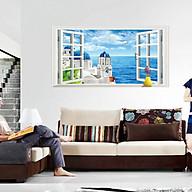 decal dán tường phong cảnh cửa sổ biển ay9234c thumbnail