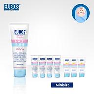 Combo lotion dưỡng ẩm cho bé EUBOS 125ml + 4 tuýp gel tắm gội cho bé 15ml + 3 tuýp kem chống nắng cho bé và mẹ bầu 6ml thumbnail