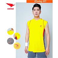 Bộ quần áo bóng chuyền cao cấp thương hiệu HIWING H5 màu vàng thumbnail