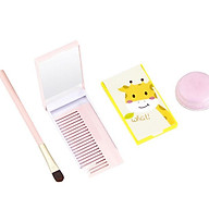 Bộ lược chải tóc và gương màu kẹo ngọt nhỏ gọn tiện lợi cho bé yêu I013 thumbnail