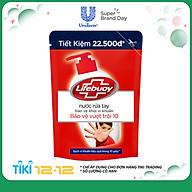 Nước Rửa Tay Diệt Khuẩn Lifebuoy Bảo Vệ Vượt Trội Túi 21126130 (450g) thumbnail