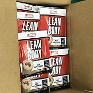 Labrada Lean Body (Thùng 80 Gói), Vị Chocolate, Sữa Thay Thế Bữa Ăn Tiện Lợi Cao Cấp, Bổ Sung 40g Protein, Chất Xơ & Vitamin Khoáng Chất thumbnail