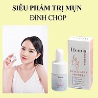 Detox Mụn 24H Hemia Black Acne Ampoule Giúp Da Hết Mụn-Giảm Thâm-Căng Bóng-Se Khít Lỗ Chân Lông-Made In Korea thumbnail