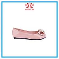 Giày Búp Bê Đi Học Bé Gái Crown Princess Ballerina CRUK3120 Chất Liệu Cao Cấp Nhẹ Êm Thoáng Mát Size 28-36 4-14 Tuổi thumbnail
