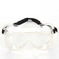 Safety Protective Goggles With Four Breathing Valves and Adjustable Wear Strap Glasses Prevent Saliva Splashing Anti-fog thumbnail