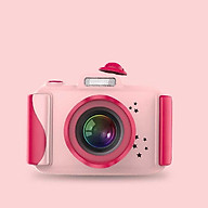 Boy Gifts Toys Kids Digital Camera, Birthday Present Video Camera, Rechargeable 2.4 Inch Screen Video,(32GB Memory Card Included, Pink) thumbnail