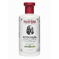 Nước hoa hồng không cồn hương dưa leo THAYERS Alcohol-Free Cucumber Witch Hazel Toner 355ml (Dành cho da nhờn và da mụn) thumbnail
