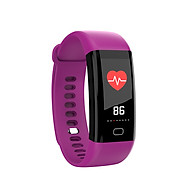F07 IP68 Waterproof Color Screen Fitness Band Smart Bracelets Heart-rate BT Sport Wristband Calls Notification Activity thumbnail