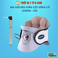 Đai hơi kéo giãn đốt sống cổ Leamai C02, hỗ trợ giảm đau cổ vai gáy, căng cơ, thoát vị đệm đốt sống cổ [TBYT H-Care] thumbnail
