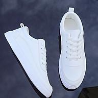 Giày Sneaker Nam Giày Thể Thao Thời Trang Udany Giày Nam Bassic Trắng Trơn Trẻ Trung Dễ Phối Đồ Ôm Chân Tuyệt Đẹp - EN019 thumbnail