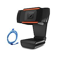 1080P 2MP Wide-Angle HD Webcam 30fps Auto Focusing Web Cam Noise-reduction MIC Laptop Computer Camera USB Plug & Play thumbnail