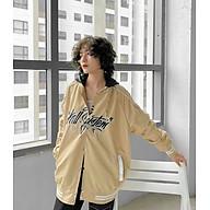Áo khoác Dù Bomber thể thao hàn quốc in chữ Kill System unisex nam nữ , áo khoác bóng chày nút bấm phối màu cá tính phong cách Ulzzang kèm hình ảnh thật, áo khoác cặp đôi tay phối có nón thumbnail