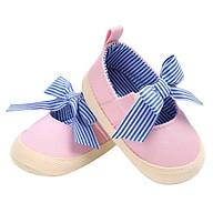 Giày tập đi búp bê thắt nơ xinh cho bé gái TD10 thumbnail
