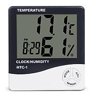 Đồng hồ đo nhiệt độ, độ ẩm và báo thức 3 chức năng trong một thumbnail