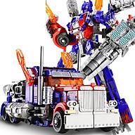 Robot biến hình ôtô Transformer cao 20cm mẫu Optimus Prime OP-20 thumbnail