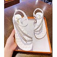 Giày Sandal Giày Nữ Quai Ngang Nữ Dép Quai Hậu Đi HỌC Phong Cách Hàn Quốc thumbnail