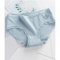 BỘ 5 quần lót nữ COTTON viền ren gợi cảm, co giãn tốt LW002 thumbnail