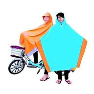 Áo mưa choàng nhỡ cho bé cấp 2 cấp 3 thumbnail