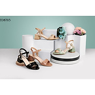 Giày sandal nữ cao gót 3cm thời trang 2021 đầy duyên dáng TH8703 thumbnail