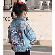 AK27Size90-130 (9-25kg)Áo khoác jean xịn, hiệu xilibaThời trang trẻ Em hàng quảng châu thumbnail