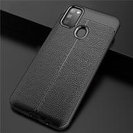 Ốp lưng dành cho SamSung Galaxy M30s silicon giả da chính hãng Auto Focus thumbnail