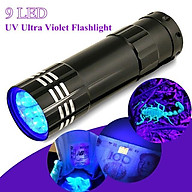 Đèn UV Led 9 bóng 3W Sấy Keo UV, Soi Tiền - UV9 thumbnail