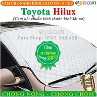 Tấm che chắn nắng kính lái ô tô Toyota Hilux CAO CẤP 3 Lớp Chắn Nắng Cản Nhiệt OTOALO thumbnail