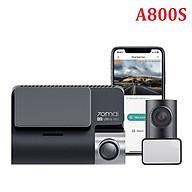 Bộ Camera hành trình trước và sau ô tô Xiaomi 70mai. Bản Quốc Tế cao cấp A800S, 4K, Wifi - Màn hình LCD 3.0 inch - Độ phân giải camera trước 3840 x 2160P - Hàng Nhập Khẩu thumbnail