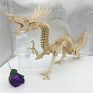 Đồ chơi lắp ráp gỗ 3D Mô hình Con Rồng Dragon thumbnail