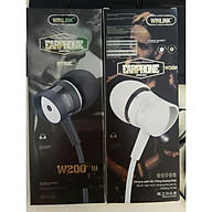 Tai nghe điện thoại có dây Winlink W200 jack 3.5mm có mic - giá rẻ -hàng chính hãng thumbnail