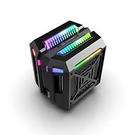 Quạt tản nhiệt CPU, CPU Fan Thermaltake T400 Led ARGB đồng bộ mainboard, hub RGB - Hàng nhập khẩu thumbnail