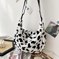 Túi đeo chéo Túi xách nữ Họa Tiết Bò Sữa Siêu Dễ Thương TV15 thumbnail