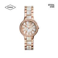 Đồng hồ nữ Fossil VIRGINIA dây kim loại ES3716 - màu vàng hồng thumbnail