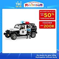 Xe Cảnh Sát Jeep Wranger Rubicon Bruder BRU02526 thumbnail