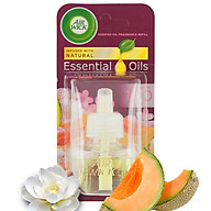 Lọ tinh dầu thiên nhiên Air Wick Summer Delights 19ml QT006412 - hoa lan trắng thumbnail