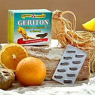 TPCN tăng cường thể lực chứa cao nhân sâm Hàn Quốc, vitamin -khoáng chất GERITON Robinson Pharma USA-Hộp 100 viên thumbnail