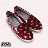Giày slipon nữ thời trang D&A L1727 đỏ thumbnail