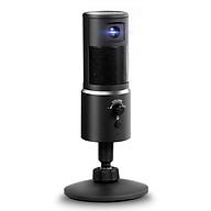 Digital Video Microphone Condenser Recording Microphone + 1080P Camera Hi-Fi Stereo Microphone Plug and Play Black thumbnail