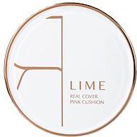 Phấn Nước Kiềm Dầu Lime Real Cover Pink Cushion SPF50+ PA+++ Tone 25 thumbnail