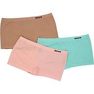 Combo 03 quần lót nữ seamless dáng boxer mặc trong váy Misaki - 9322 thumbnail