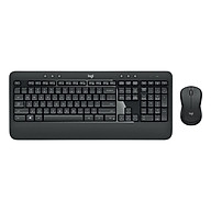 Bộ combo chuột bàn phím không dây Logitech MK540 cho máy tính xách tay PC thumbnail