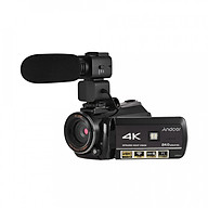 Máy Quay Video Kỹ Thuật Số 4K UHD Andoer AC3 Kèm Máy Ghi Âm DV (24MP) thumbnail
