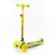 Xe trượt Scooter trẻ em Cougar SS05T hàng chính hãng + cho bé từ 3-12 tuổi thumbnail