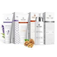 Bộ sản phẩm Truesky VIP14 gồm 1 kem ủ trắng toàn thân 100ml & 1 kem dưỡng trắng lavender 100ml & 1 tẩy tế bào chết 100ml thumbnail
