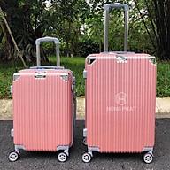 Hàng chính hãng Rẻ vô địch Vali du lịch cỡ lớn nhựa sọc dọc bo góc size 28 Hùng Phát. Hàng có sẵn. thumbnail