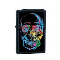 Bật Lửa Zippo 28042 Zippo X-Ray Skull Black Matte thumbnail