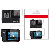 Kính Cường Lực Màn Hình GoPro Hero 5 Hero 6 Hero 7 Black - Bộ 2 miếng thumbnail